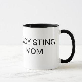 Dame Sting Mom Mug Tasse