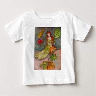 Dame und der Fox Baby T-shirt
