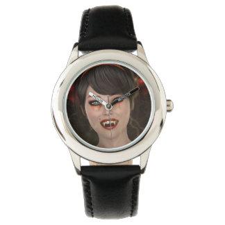 Dame Vamp Armbanduhr