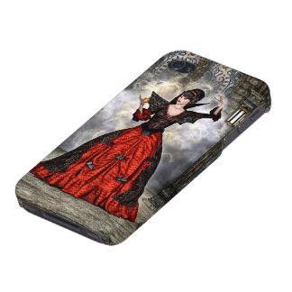 Dame Vamp iPhone 4 Etuis