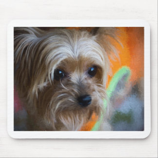 Dame Yorkshire Terrier Mousepad
