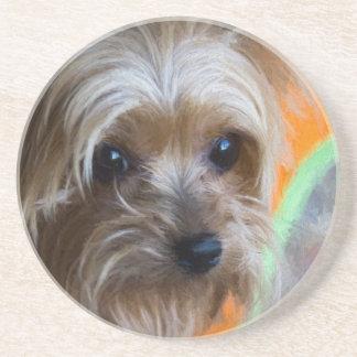 Dame Yorkshire Terrier Untersetzer
