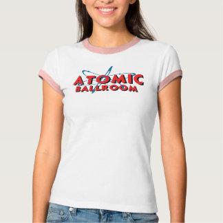 Damen-Atomweckert-stück T-Shirt