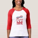 Damen-Baseball Jersey der Heilungs-HHT Shirts