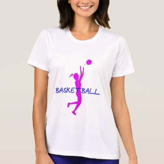 DAMEN-BASKETBALL-LEISTUNGS-MIKROfaser-SHIRT T-Shirt