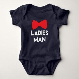 Damen bemannen im Blau Baby Strampler