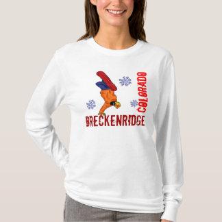 Damen Breckenridges Colorado Snowboard Hoodie
