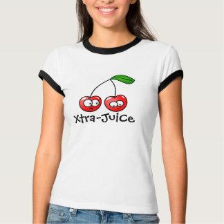 Damen Extra-Saft Kirsche T-Shirt