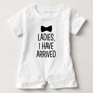 Damen I haben angekommenes neues Babyjungen-Shirt Baby Strampler