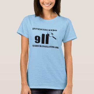 Damen Invesitgado camisa T-Shirt