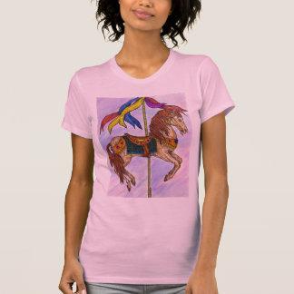 Damen-Karussell-T - Shirt