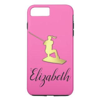 Damen-kundenspezifischer goldener iPhone 8 plus/7 plus hülle