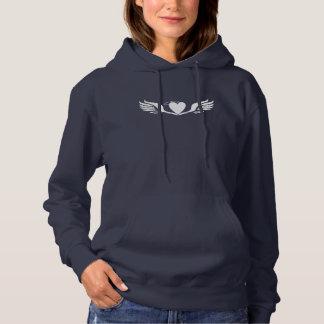 Damen-Liebe-FlügelHoodie Hoodie