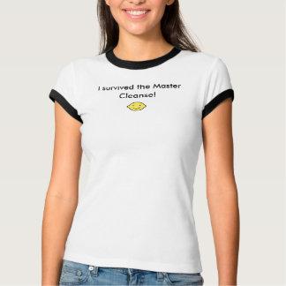 Damen-Meister reinigen T - Shirt