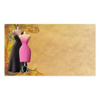 Damen-Mode-Kleidungs-Visitenkarte Visitenkarten