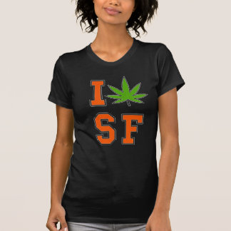 Damen potleaf sf T-Shirt