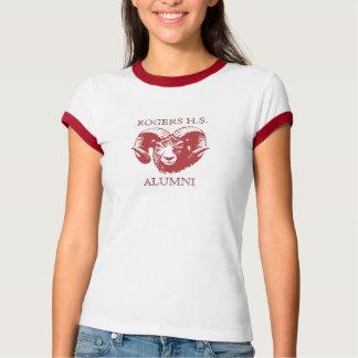 Damen-Schüler-T-Shirt T-Shirt