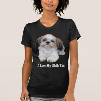 Damen-T - Shirt Shih Tzu