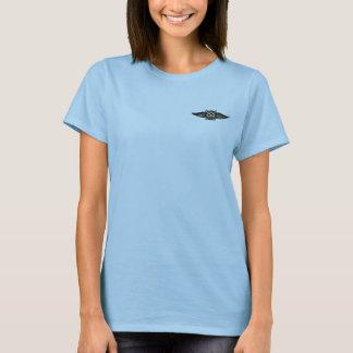 Damen Tritt-Hintern Josie T-Stück T-Shirt
