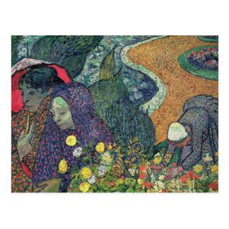 Damen Vincent van Goghs | von Arles, 1888 Postkarte