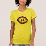 Damen-Violinen-geometrischer Entwurfs-T - Shirt