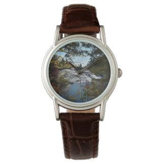Damen-Wasserfall-Uhr Armbanduhr