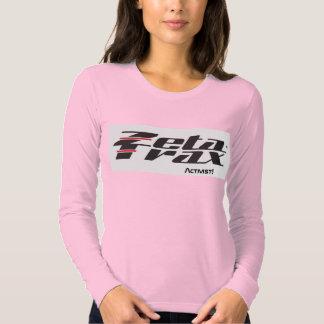 """Damen """"Zeta-Trax-Aktivist!"""" lange Hülse (gefärbt) Tshirt"""