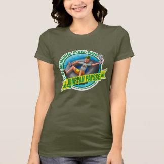 Damen zierlich (Braun) T-Shirt