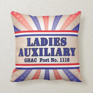 Damen-zusätzliches patriotisches Kissen durch Andy