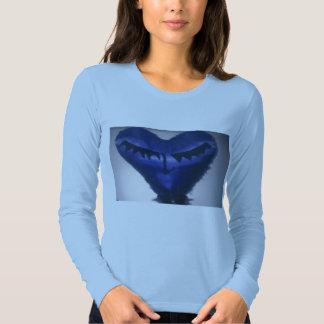 Damenherz liong Hülse T-Shirt