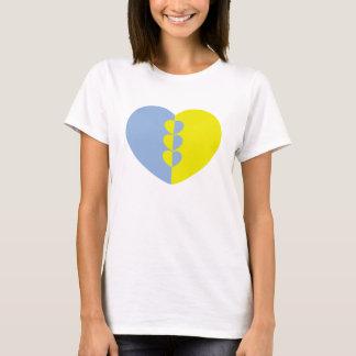 Damenherz-Shirt T-Shirt