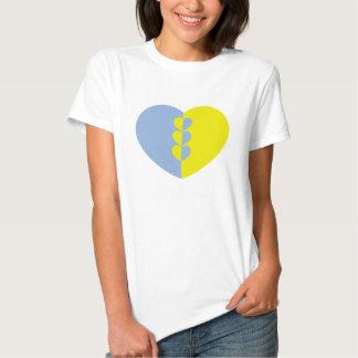 Damenherz-Shirt T Shirt