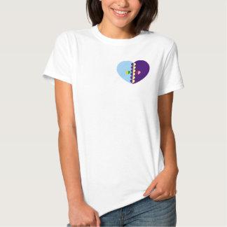Damenherz-Shirt Shirt