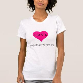Damenherz T-Shirt