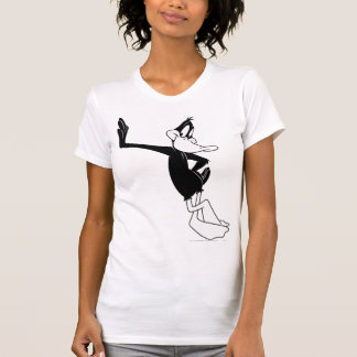 DÄMLICHES DUCK™, das an einer Wand sich lehnt T-Shirt