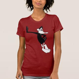 DÄMLICHES DUCK™, das an einer Wand sich lehnt T-Shirts