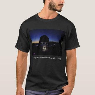 Dämmerung auf Observatorium-Dach Los Angeless T-Shirt