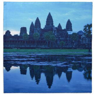 Dämmerung bei Angkor Wat Serviette
