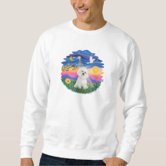 Dämmerung - Bichon Frise Sweatshirt