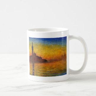 Dämmerung Claude Monets //Venedig Kaffeetasse