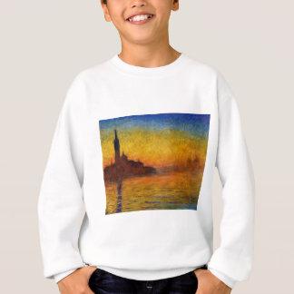 Dämmerung Claude Monets //Venedig Sweatshirt