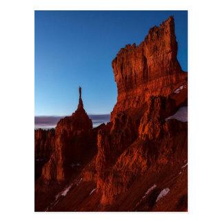 Dämmerungs-frühes Licht Postkarte