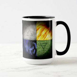 Dämmerungs-Insel-Logo-Tasse Tasse