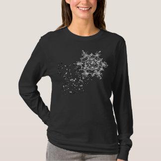 Dämmerungs-Schneeflocke T-Shirt