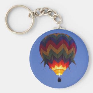 Dämmerungsballonflug Standard Runder Schlüsselanhänger