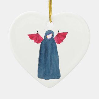 Dämon-Mädchen Keramik Ornament