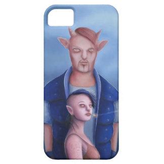 Dämon-Paare im Spuk Wald iPhone 5 Hülle