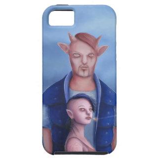 Dämon-Paare im Spuk Wald iPhone 5 Schutzhülle