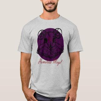 Dämon-Pizza-Kreuz T-Shirt