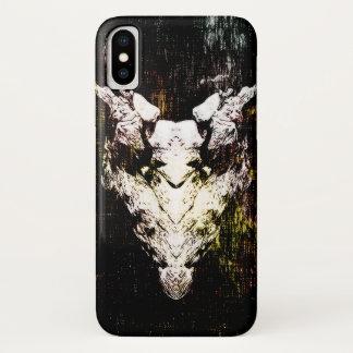 Dämon-Schädel iPhone X Hülle